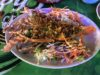 パタヤで初めてロブスターを食べる豪華な夕飯。昼はたった40バーツの激安ステーキを食べる